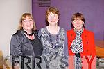 FESTIVAL: Enjoying the Kerry Film Festival awards ceremony at Siamsa Tire, Tralee on Saturday l-r: Maureen, Marian and Helen Lynch, Ballyhorgan West, Lixnaw.