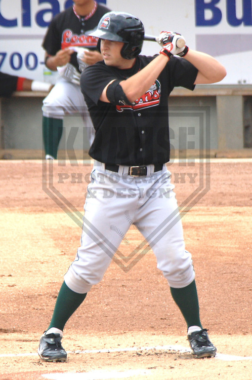 APPLETON - JULY 2010: Blake Smith of the Great Lakes Loons, Class-A affiliate of the Los Angeles Dodgers, during a game on July 19, 2010 at Fox Cities Stadium in Appleton, Wisconsin. (Photo by Brad Krause)