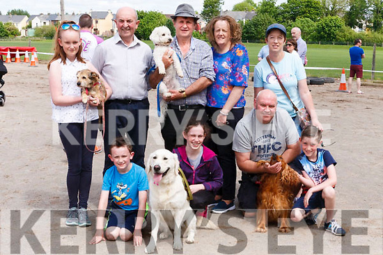 Ready for the Dog Show at last Sundays Rembering Zo&euml; Funday are L-R Shauna O' Donoghue with Shadow, Denis Ward, Sean O' Donoghue with Marley, Theresa O' Donoghue, Joan Baker.<br /> Front: David O' Donoghue, &Eacute;imhear Flannery with Molly, Andy &amp; Charlie Baker with Monty.