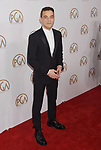 HOLLYWOOD, CA - JANUARY 28: Actor Rami Malek arrives at the 28th Annual Producers Guild Awards at The Beverly Hilton Hotel on January 28, 2017 in Beverly Hills, California.