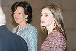 Queen Letitia of Spain attends to the meeting of the patronage of help against drug addiction in Madrid, Spain. December 19, 2016. (ALTERPHOTOS/BorjaB.Hojas)