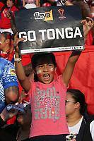 Rugby fan ahead of the Rugby League Rugby World Cup 2017 Pool B match - Samoa v Tonga played at Waikato Stadium, Hamilton, New Zealand on Saturday 4 November  2017.  <br /> <br /> Copyright photo: © Bruce Lim / www.photosport.nz MANDATORY CREDIT/BYLINE : John Cowpland/SWpix.com/PhotosportNZ