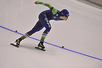 SPEEDSKATING: CALGARY: 15-11-2015, Olympic Oval, ISU World Cup, 1500m, Antoinette de Jong (NED), ©foto Martin de Jong