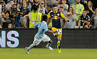 Kansas City, KS - Wednesday September 20, 2017: Alex Muyl during the 2017 U.S. Open Cup Final Championship game between Sporting Kansas City and the New York Red Bulls at Children's Mercy Park.