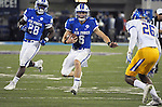 September 12, 2015 - Colorado Springs, Colorado, U.S. - Air Force quarterback, Nate Romine #6, breaks free for a long gain during Mountain West Conference action between the San Jose State Spartans and the Air Force Academy Falcons at Falcon Stadium, U.S. Air Force Academy, Colorado Springs, Colorado.  Air Force defeats San Jose State 37-16.