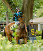 Unconditional Resq winning at Delaware Park on 9/1/12