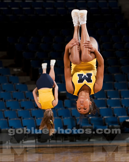 University of Michigan women's basketball 68-54 victory over New Mexico State 68-54 at Crisler Arena in Ann Arbor, MI, on December 13, 2010.