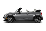 Car Driver side profile view of a 2016 MINI Cooper - 2 Door Convertible Side View