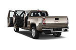Car images of a 2015 GMC Canyon SLT Crew Cab SWB 4 Door Truck Doors