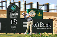 Cormac Sharvin (NIR) on the 18th during the Preview of the Saudi International at the Royal Greens Golf and Country Club, King Abdullah Economic City, Saudi Arabia. 28/01/2020<br /> Picture: Golffile | Thos Caffrey<br /> <br /> <br /> All photo usage must carry mandatory copyright credit (© Golffile | Thos Caffrey)
