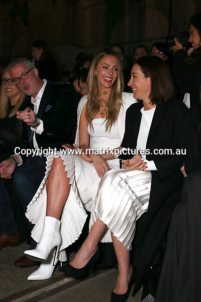 15 MAY 2017 SYDNEY AUSTRALIA<br /> WWW.MATRIXPICTURES.COM.AU<br /> <br /> NON EXCLUSIVE PICTURES<br /> <br /> MERCEDES-BENZ FASHION WEEK AUSTRALIA RESORT 18 COLLECTIONS<br /> <br /> Note: All editorial images subject to the following: For editorial use only. Additional clearance required for commercial, wireless, internet or promotional use.Images may not be altered or modified. Matrix Media Group makes no representations or warranties regarding names, trademarks or logos appearing in the images.