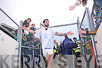 Paul Galvin leaves the field of play after beating Waterford last Saturday in Fitzgerald Stadium for the Munster GAA football championship