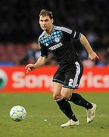 FUSSBALL   CHAMPIONS LEAGUE   SAISON 2011/2012   21.02.2012 SSC Neapel - Chelsea  FC Branislav Ivanovic (Chelsea  FC)
