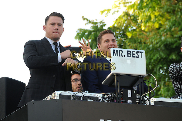10 June 2014 - Westwood, California - Channing Tatum, Jonah Hill. &quot;22 Jump Street&quot; Los Angeles Premiere held at the Regency Village Theatre. <br /> CAP/ADM/BP<br /> &copy;Byron Purvis/AdMedia/Capital Pictures