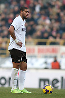 Inter's Adriano during their italian serie A soccer match at Dall'Ara Stadium in Bologna , Italy , February 21 , 2009 - Photo: Prater/Insidefoto ©