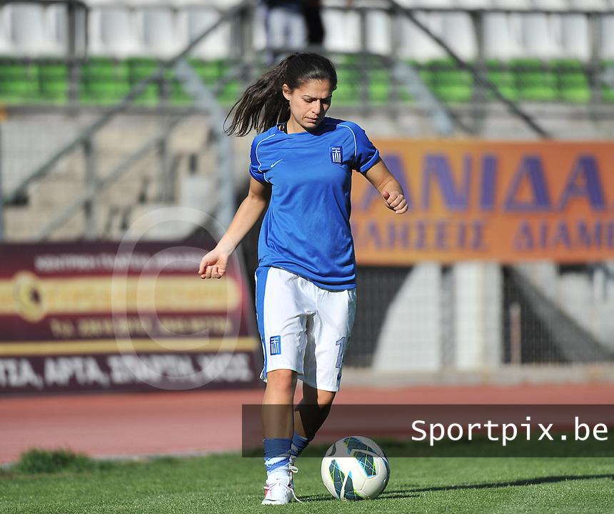 GREECE LIVADIA SOCCER UEFA WOMEN GREECE VS BELGIUM  317eeb5e6d