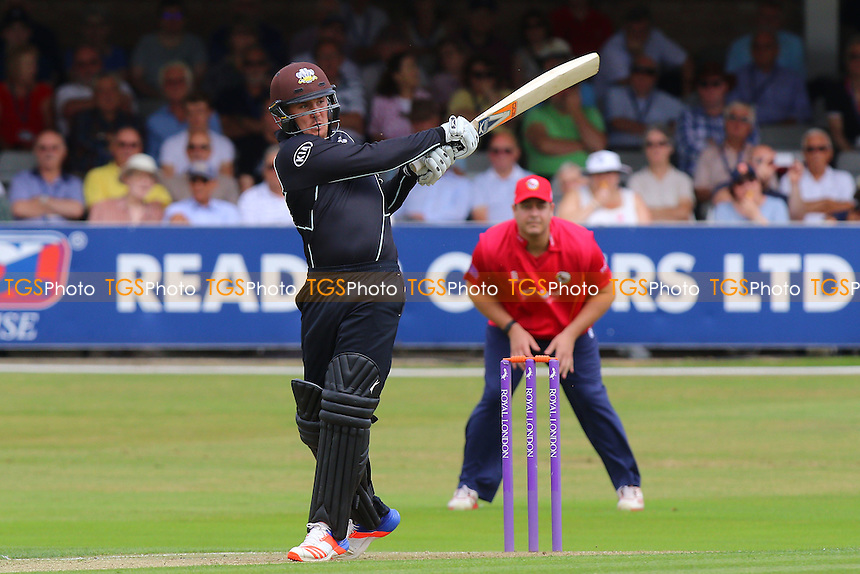 Jason Roy hits out for Surrey during Essex Eagles vs Surrey, Royal London One-Day Cup Cricket at the Essex County Ground on 24th July 2016