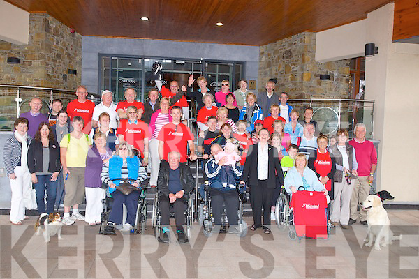 Walkers who took part in the MS Ireland Tralee Branch fort their 10k  Walk from The Carlton Hotyel Tralee on Sunday...