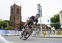 Picture by Allan McKenzie/SWpix.com - 14/07/17 - Cycling - HSBC UK British Cycling National Circuit Series - Velo29 Altura Criterium - Stockton, England - Graham Briggs.