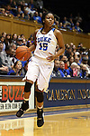 17 January 2016: Duke's Kyra Lambert. The Duke University Blue Devils hosted the Boston College Eagles at Cameron Indoor Stadium in Durham, North Carolina in a 2015-16 NCAA Division I Women's Basketball game. Duke won the game 71-51.
