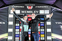 Picture by Simon Wilkinson/SWpix.com - 16/05/2017 - Cycling - Tour Series Round 4, Wembley - One Pro Cycling's Steele Von Hoff takes the Brother  Cycling fastest lap win at the Tour Series GP at Wembley.
