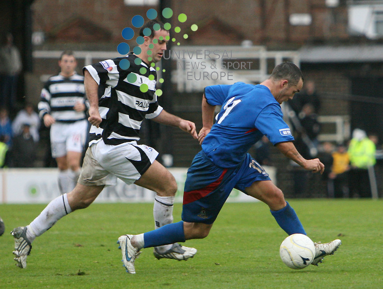 Cally player Dougie Imrie in action during the Irn-Bru First Division match between Ayr Utd and Inverness CT at Somerset Park 24/10/09..Picture by Ricky Rae/universal News & Sport (Scotland).