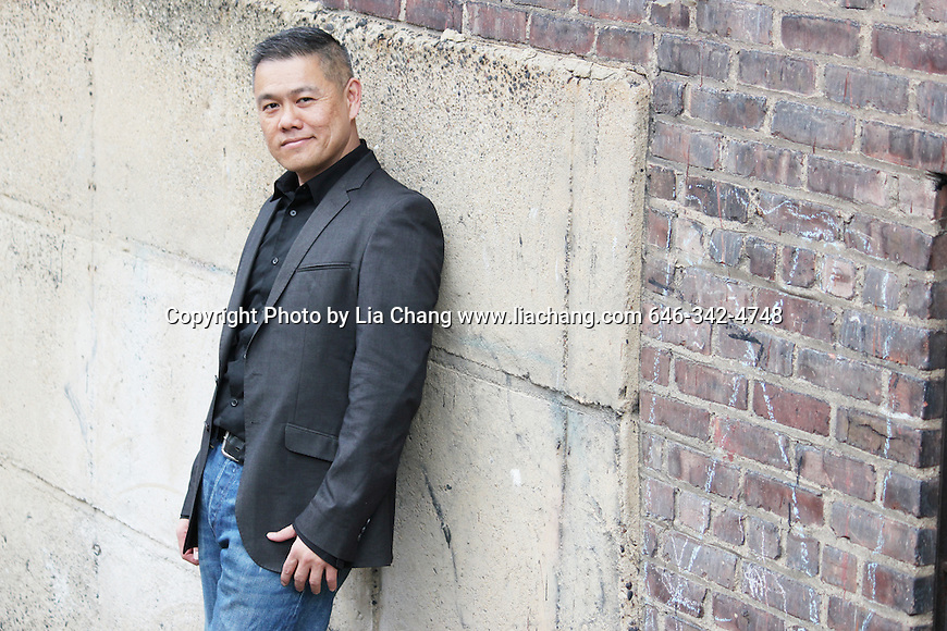 Chay Yew in New York on 4/24/2011. © 2011 Lia Chang