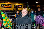 Helen O'Leary at the Kerry team homecoming in Killarney on Monday