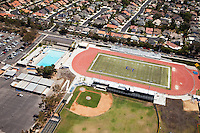 El Toro High School in Lake Forest California Aerial Photo