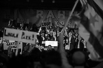 Rahm Emanuel takes the stage after he is announced the winner of the Chicago mayoral election race following nearly half a century of rule by the Daley family, father and son mayors Richard J. and Richard M. Daley, at the Plumbers Union Hall in Chicago, Illinois on February 22, 2011.