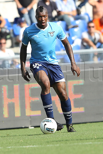 25.09.2011 Rome Italy.   Cisse in action during the Serie A match between S.S. Lazio and Palermo, played in the Stadio Olimpico Rome.