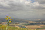 Israel, a view of Beth She'an Valley from Mount Gilboa
