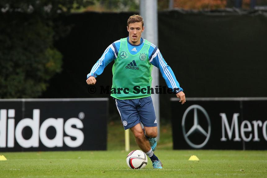 Max Kruse - Training der Deutschen Nationalmannschaft in Frankfurt
