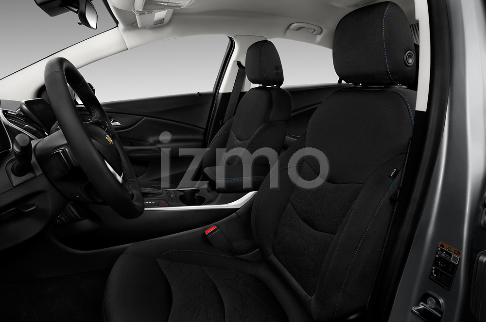 Front seat view of 2016 Chevrolet Volt LT 5 Door Hatchback Front Seat  car photos
