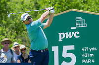 George Coetzee (RSA) during the 3rd round at the Nedbank Golf Challenge hosted by Gary Player,  Gary Player country Club, Sun City, Rustenburg, South Africa. 16/11/2019 <br /> Picture: Golffile | Tyrone Winfield<br /> <br /> <br /> All photo usage must carry mandatory copyright credit (© Golffile | Tyrone Winfield)
