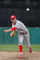 March 7 2010: Mike Lachapelle of University of New Mexico during game against USC at Dedeaux Field in Los Angeles,CA.  Photo by Larry Goren/Four Seam Images