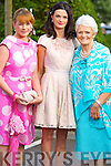Breda Nelligan (The Zip Yard, Tralee) Laura Byrne (Cork) and Margaret Hartnett (Abbeyfeale) pictured at the Rose of Tralee fashion show in the Dome on Sunday night.