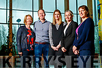 Members of Kerry SciTech pictured on Friday morning last, l-r: Deirdre Carr (DIOMAC), Donal Lawlor (ViClarity), Aoife O'Brien (Kerry SciTech), Emer O'Connor (JRI America), Aoife Ní Mhuirí (Salaso Health).