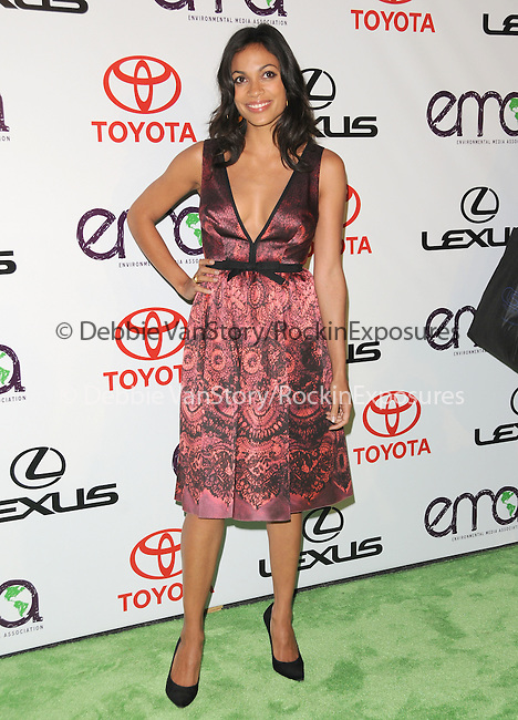 Rosario Dawson at The 2010 Environmental Media Association Awards held at WB Studios in Burbank, California on October 16,2010                                                                   Copyright 2010  © Hollywood Press Agency