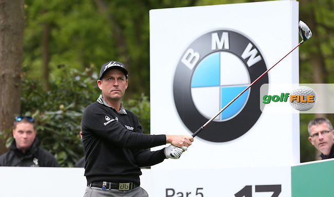 David Howell (ENG) during the Pro-Am ahead of the 2015 BMW PGA Championship over the West Course at Wentworth, Virginia Water, London. Picture David Lloyd, www.golffile.ie: 20/05/2015