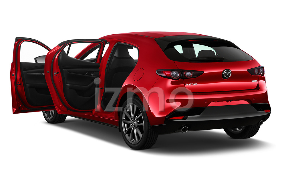 Car images close up view of a 2019 Mazda Mazda3 Skycruise 5 Door Hatchback doors