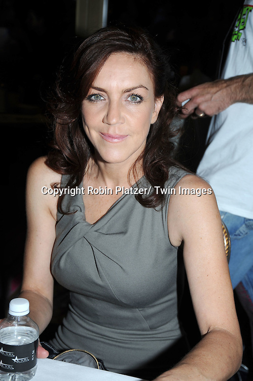 Andrea McArdle posing for photographers at The Broadway Cares/ Equity Fights Aids 24th Annual Broadway Flea Market & Grand Auction on September 26, 2010 in Shubert Alley..photo by Robin Platzer/ Twin Images.212-935-0770