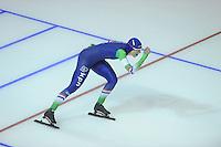 SPEEDSKATING: CALGARY: 13-11-2015, Olympic Oval, ISU World Cup, 3000m, Marije Joling (NED), ©foto Martin de Jong
