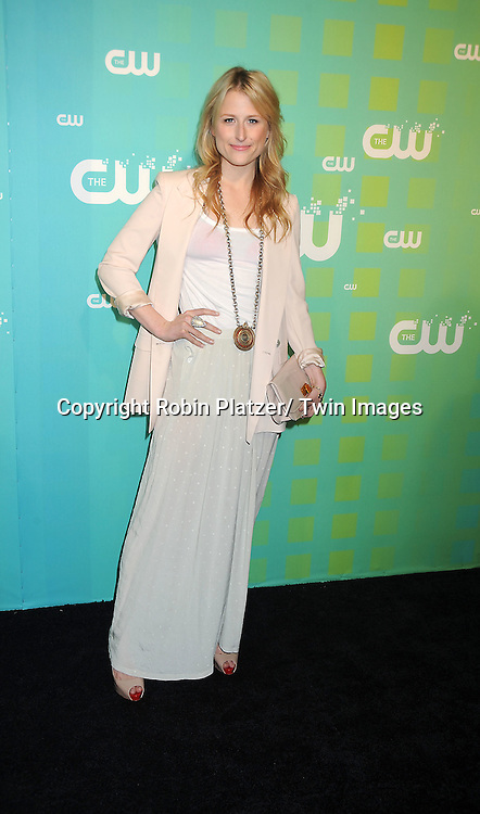 "Mamie Gummer of ""Emily Owens, MD"" attends The CW Network's 2012 Upfront Presentation on May 17, 2012 at New York City Center in New York."