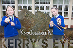 Two pupils from Knocknagree National School who won camogie medals in the Abhann Dubh Camogie League. .L-R Rebecca O'Sullivan and Ca?it O'Mahony