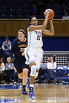 23 November 2014: Duke's Azura Stevens. The Duke University Blue Devils hosted the Marquette University Golden Eagles at Cameron Indoor Stadium in Durham, North Carolina in a 2014-15 NCAA Division I Women's Basketball game. Duke won the game 83-51.
