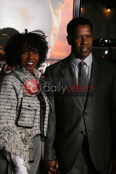 Pauletta Washington, Denzel Washington<br />