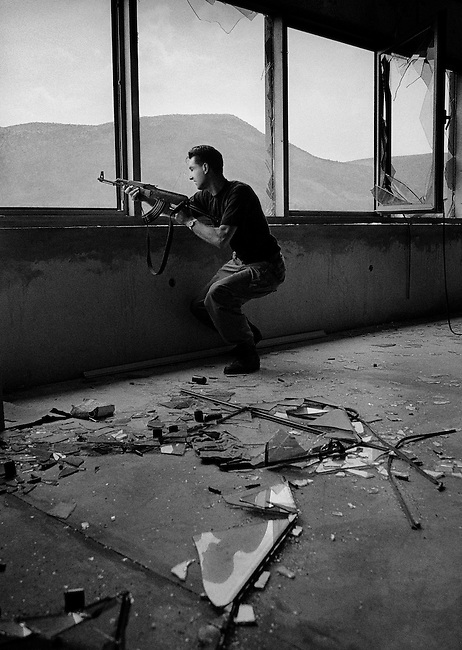 Mostar, Bosnia, June 1993.<br />