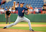 14 March 2008: Cleveland Indians' pitcher Edward Mujica on the mound during a Spring Training game against the Washington Nationals at Space Coast Stadium, in Viera, Florida. The Nationals defeated the visiting Indians 8-4 as both teams fielded split squads home and away...Mandatory Photo Credit: Ed Wolfstein Photo
