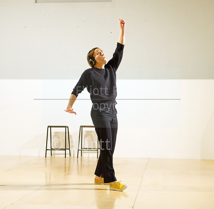 Siobhan Davies Dance at The ICA, London, Great Britain <br /> photographs taken during a press performance <br /> 7th January 2014 <br /> <br /> Andrea Buckley<br /> Helka Kaski<br /> Rachel Krische<br /> Charlie Morrissey<br /> Matthias Sperling <br /> <br /> A live installation: Memory and Presence. Table of Contents is a live performance and installation co-created by Siobhan Davies<br /> <br /> Photograph by Elliott Franks